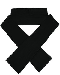 Ann Demeulemeester Geometric Shaped Scarf