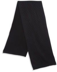 Gucci Geometric Wool Scarf