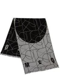 McQ by Alexander McQueen Mcq Alexander Mcqueen Geometric Print Angle Scarf