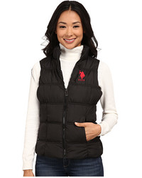 U.S. Polo Assn. Basic Princess Seamed Puffer Vest