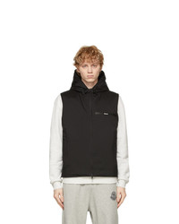 Moncler Black Down Binet Vest