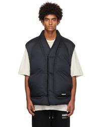 Ambush Black Down Cotton Vest