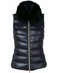 Herno Fox Fur Trim Gilet