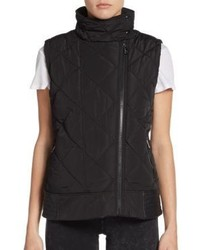 Funnel Neck Puffer Vest
