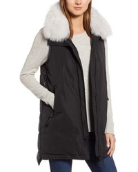 Derek Lam 10 Crosby Genuine Fox Down Vest