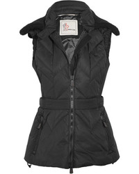 Moncler Grenoble Ceuze Quilted Down Gilet Black