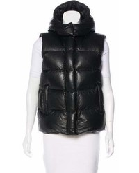 Alexander Wang Hooded Leather Vest