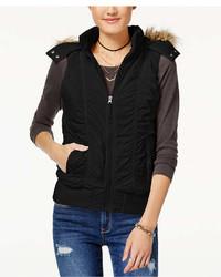 American Rag Juniors Hooded Puffer Vest Created For Macys