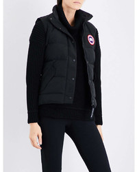 Canada Goose Ladies Black Freestyle Shell Down Gilet