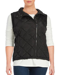 Marc New York Performance Diamond Quilted Zip Front Vest