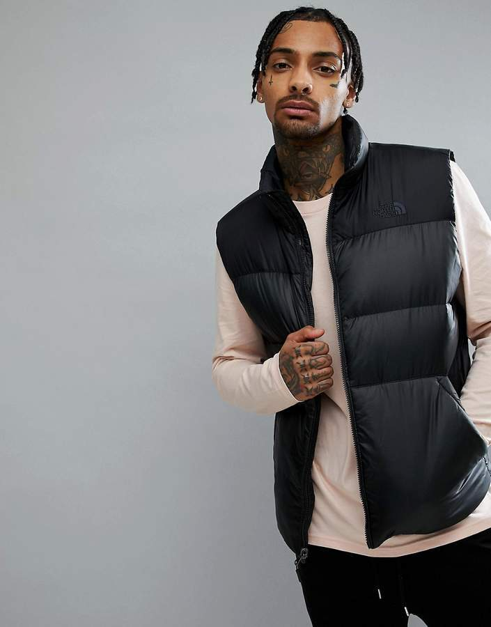 51c42ce7b33b ... Gilets The North Face Nuptse Iii Down Tank In Black ...