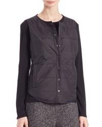 Eileen Fisher Nylon Puffer Vest