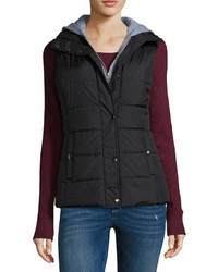 Arizona Puffer Vest With Hood Juniors