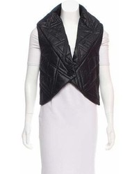 Maiyet Quilted High Low Vest