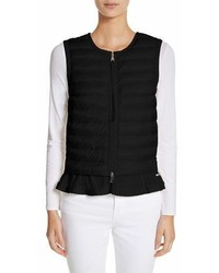Moncler Quilted Peplum Vest