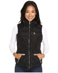 U.S. Polo Assn. Quilted Vest With Shirttail Hem
