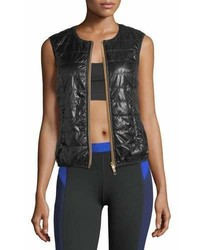 Monreal London Quilted Zip Front Gilet