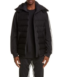 Y-3 Seamless Hooded Puffer Vest