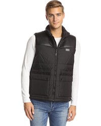 Sean John Tonal Full Zip Vest