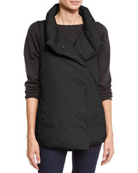 Eileen Fisher Weather Resistant Down Puffer Vest Petite