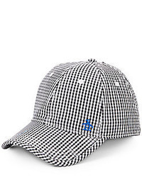 Original Penguin Ray Ray Cotton Gingham Baseball Cap