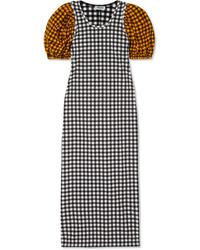 Kenzo Gingham Seersucker Dress