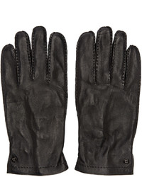 Tiger of Sweden Black Andalus Gloves
