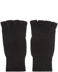 rag & bone Black Cashmere Kaden Gloves