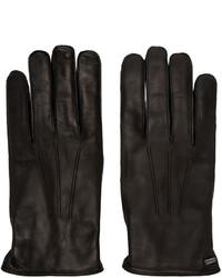 Dolce & Gabbana Black Lambskin Gloves