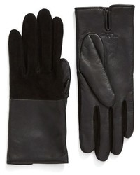 Rag & Bone Division Lambskin Gloves With Alpaca Lining