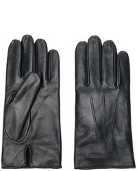 Emporio Armani Embossed Logo Gloves