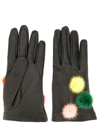 Fendi Gloves With Pompoms
