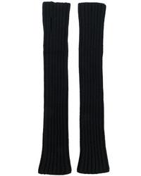 Balmain Long Fingerless Gloves