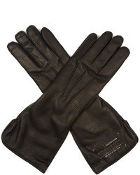 Balenciaga Long Soft Leather Gloves