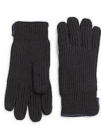Portolano Piped Merino Wool Gloves