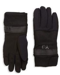 Y-3 Zip Gloves