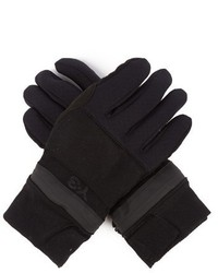Y-3 Zipped Padded Gloves