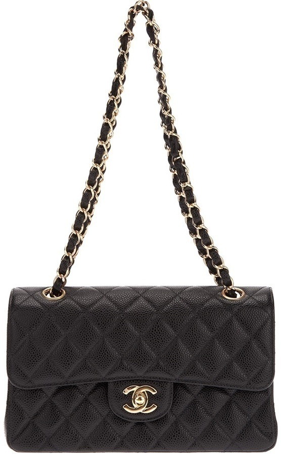 Chanel Vintage Quilted Pouchette