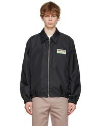 Gucci Black Canvas Lightweight Jacket