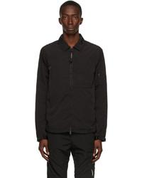C.P. Company Black Chrome R Overshirt Jacket