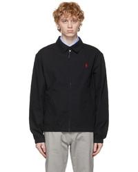 Polo Ralph Lauren Black Cotton Bayport Jacket