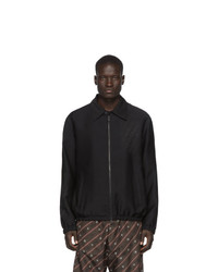 Fendi Black Forever Shirt Jacket