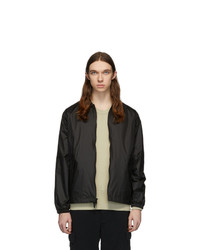 The Very Warm Black Harrington Bomber Jacket