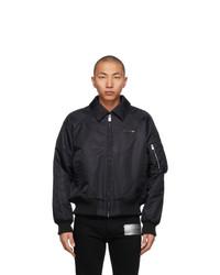 1017 Alyx 9Sm Black Nylon Bomber Jacket
