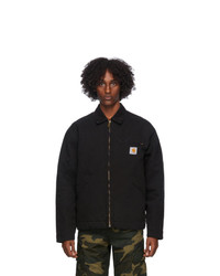 CARHARTT WORK IN PROGRESS Black Og Detroit Jacket