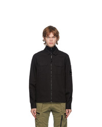 C.P. Company Black Zipper Shirt