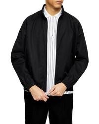 Topman Harrington Stand Collar Jacket