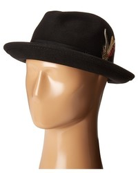 Scala All Season Snap Brim With Grosgrain Band Traditional Hats