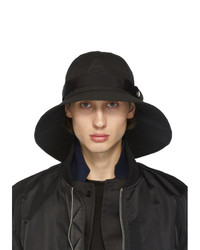 Sacai Black Brim Hat