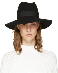 Maison Michel Black Felt Timeless Kate Fedora